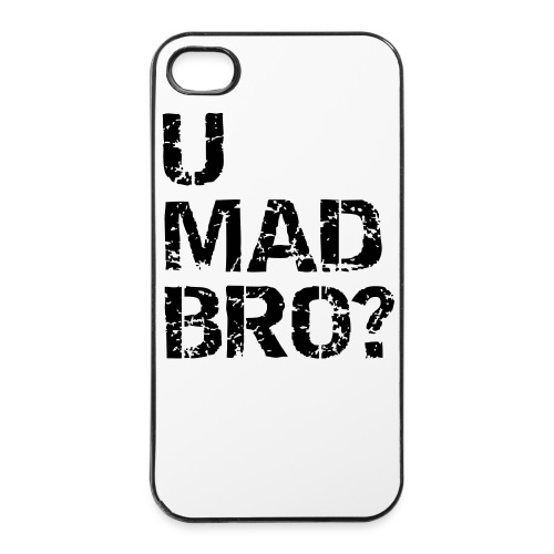 U mad - Hårt iPhone 4/4s-skal