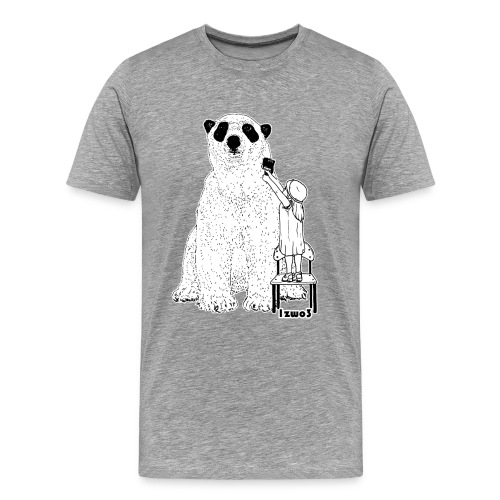 1zwo3 Bär - Männer Premium T-Shirt