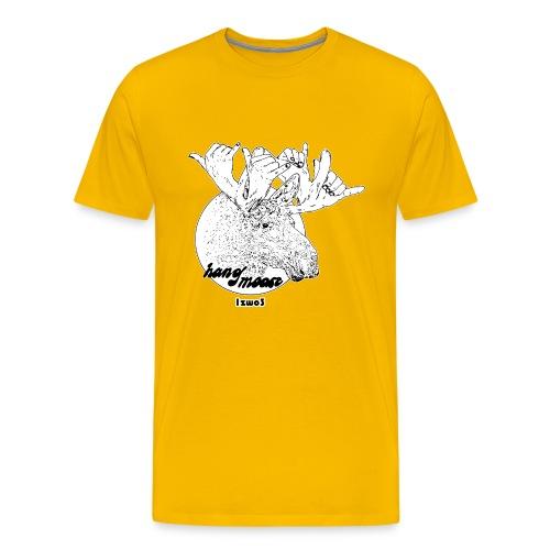 1zwo3 Hang Moose - Männer Premium T-Shirt