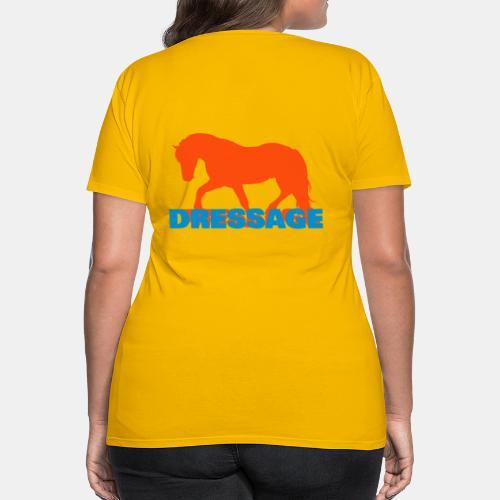 Dressage Girlie Shirt - Frauen Premium T-Shirt