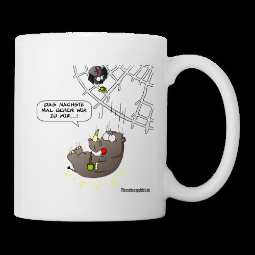Cartoon Tasse Kaffeekränzchen - Tasse