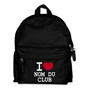Club! Sac à dos enfant I LOVE modifiable - Sac à dos Enfant