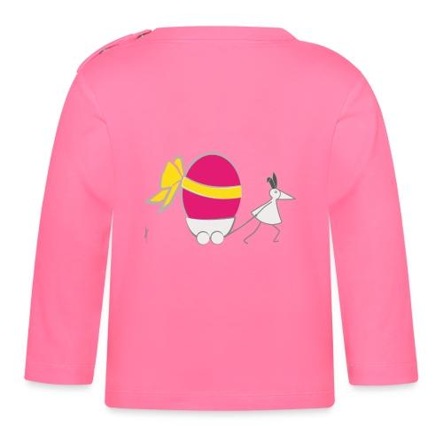 Oster-RUNNY-Babyshirt - Baby Langarmshirt