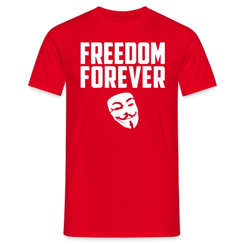 Freedom forever - Men's T-Shirt
