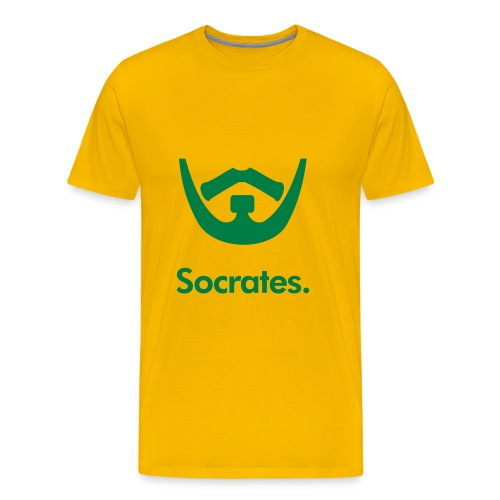 Football Chins - Socrates - Men's Premium T-Shirt