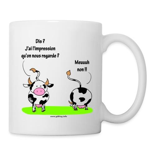 Les vaches - Mug blanc