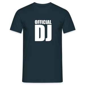 T-shirt official DJ - T-shirt Homme