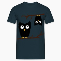 crazy owl T-Shirts