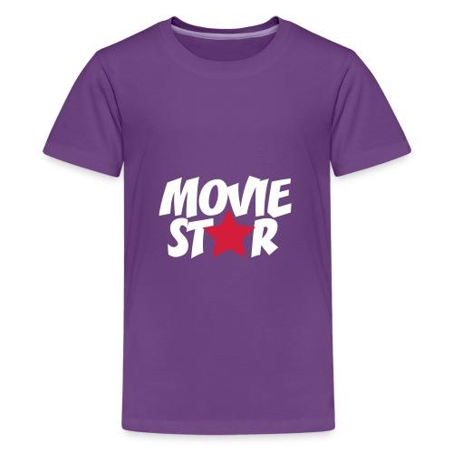 T-shirt Movie Star (100% Baumwolle) - Teenager Premium T-Shirt