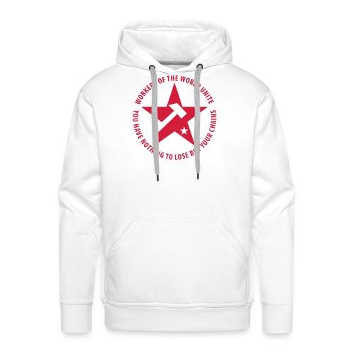 Marxist Star Hoodie - Men's Premium Hoodie