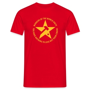 Marxist Star T-Shirt - Men's T-Shirt