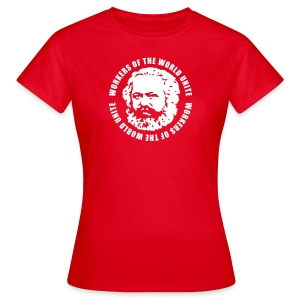 Karl Marx Slogan Women's Tee - Women's T-Shirt