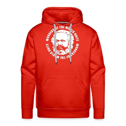 Karl Marx Slogan Hoodie - Men's Premium Hoodie
