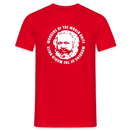 Karl Marx Slogan T-Shirt - Men's T-Shirt