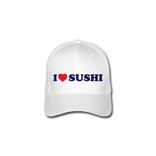 shushi-tee cappellino bianco,vari colori  - Cappello con visiera Flexfit