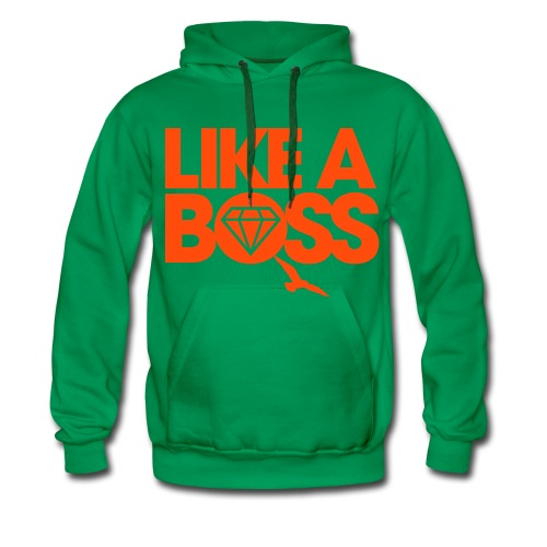 PULL LIKE A BOSS - Sweat-shirt à capuche Premium pour hommes