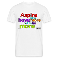 T-Shirts ~ Men's T-Shirt ~ Men's Aspire T-shirt