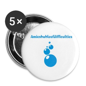 amiesbubbleofdifficulties badges - Buttons medium 32 mm