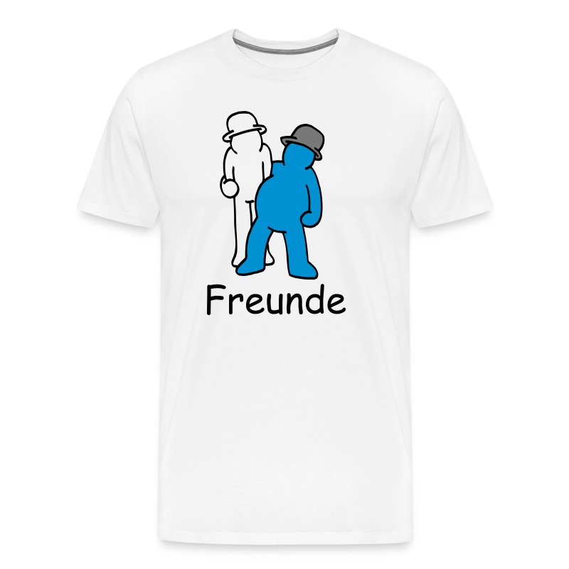 beste freunde 2 von 2 rechts t shirt spreadshirt. Black Bedroom Furniture Sets. Home Design Ideas