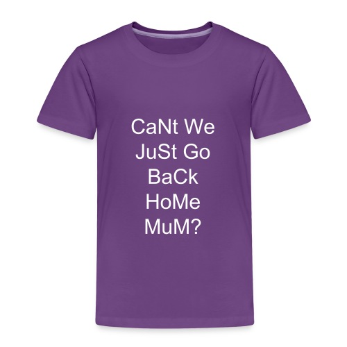 going back home - Kids' Premium T-Shirt