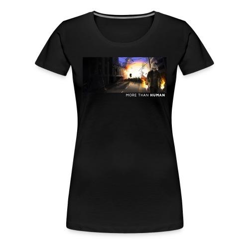 Vad skulle du göra? [vit text/K] - Premium-T-shirt dam