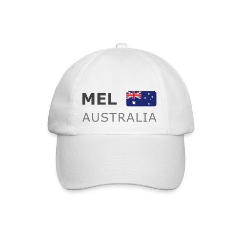 Base-Cap MEL AUSTRALIA dark-lettered - Baseball Cap