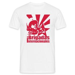 Spanish Civil War - Brigadas Internacionales T-Shirt - Men's T-Shirt