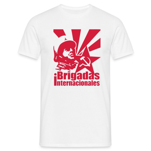 Spanish Civil War - Brigadas Internacionales T-Shirt - Men's T-Shirt