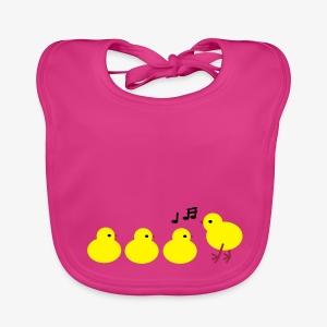 Baby chickies designer patjila - Baby Organic Bib