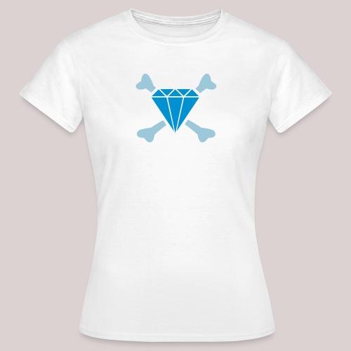 Diamond & Bones : Diamant & Knochen - Frauen T-Shirt