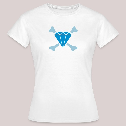 Diamond & Bones : Diamant & Knochen - Frauen T-Shirt