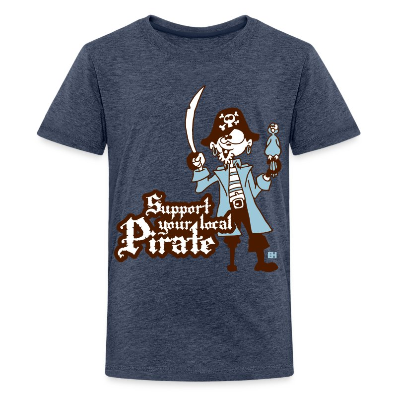 Support your local Pirate T-shirts - Teenager Premium T-shirt