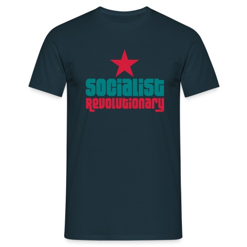 Socialist Revolutionary T-Shirt - Men's T-Shirt
