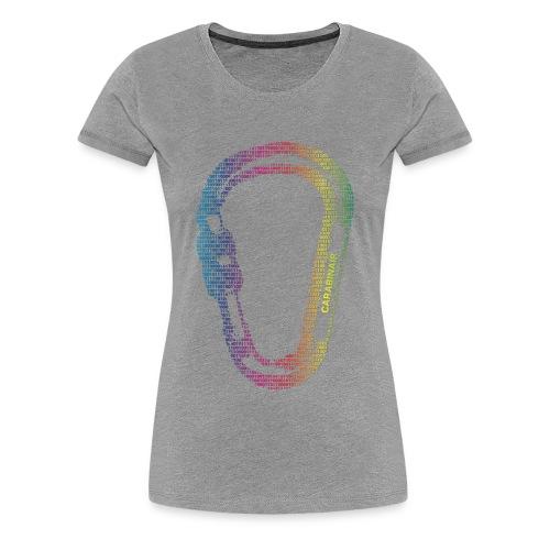 Carabinair Rainbow (Women) - Vrouwen Premium T-shirt