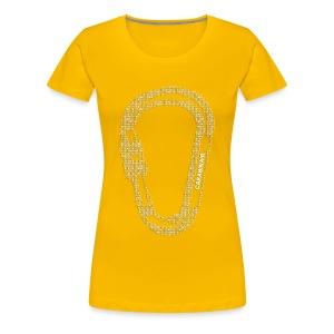 Carabinair White (Women) - Vrouwen Premium T-shirt