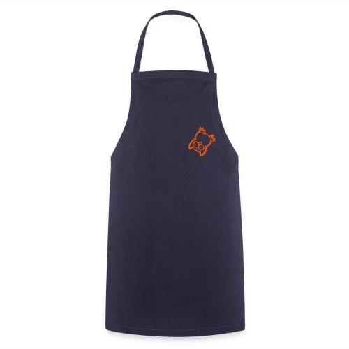 Orange Oops-owl Apron - Cooking Apron