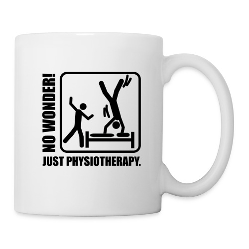 No Wonder. Just Physiotherapie. - Tasse