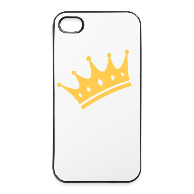 Crown Iphone 4 cover - iPhone 4/4s Hard Case