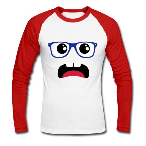 Glasses - Men's Long Sleeve Baseball T-Shirt