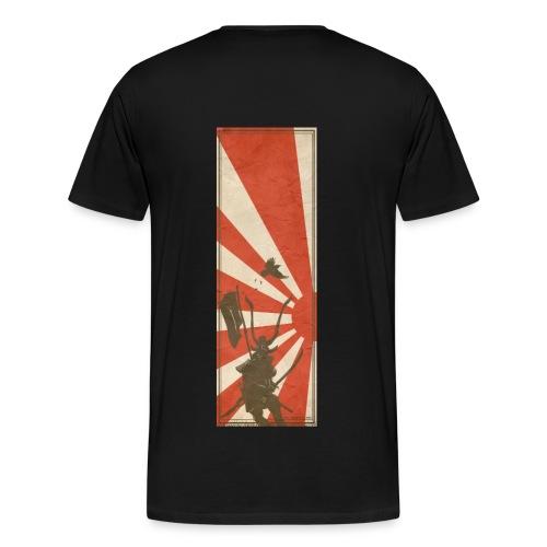 Samurai Vintage - Miesten premium t-paita