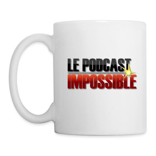 Mug Podcast Impossible - Mug blanc