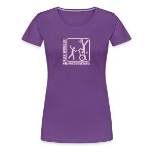 Kein Wunder! Nur Physiotherapie. - Frauen Premium T-Shirt
