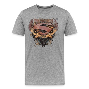 Superman S-Shield Man of Steel T-shirt herr - Premium-T-shirt herr