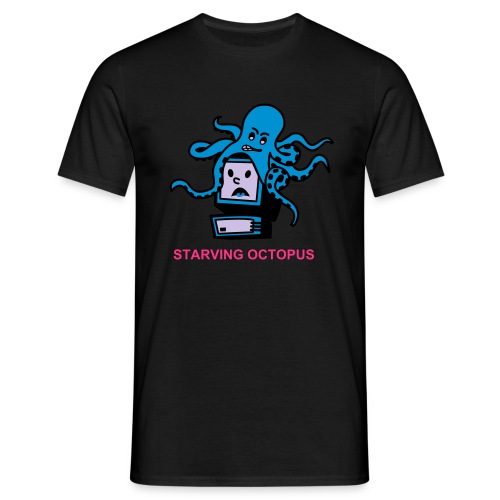 STARVING OCTOPUS - Camiseta hombre
