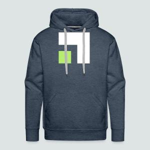 Quadrate - Männer Premium Hoodie