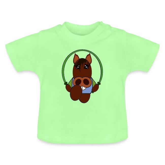 T shirt bébé cheval
