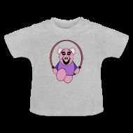 Tee shirts Bébés ~ Tee shirt Bébé ~ T shirt bébé cochon