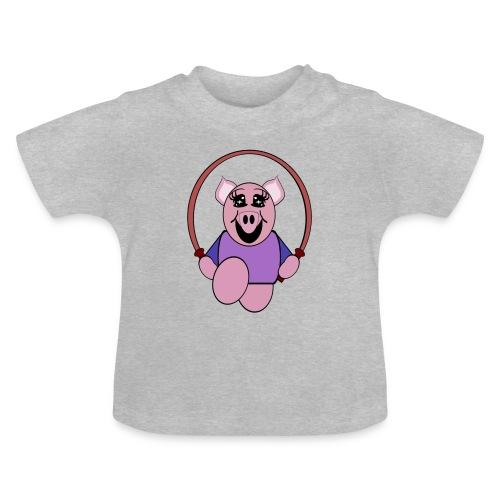 T shirt bébé cochon - T-shirt Bébé