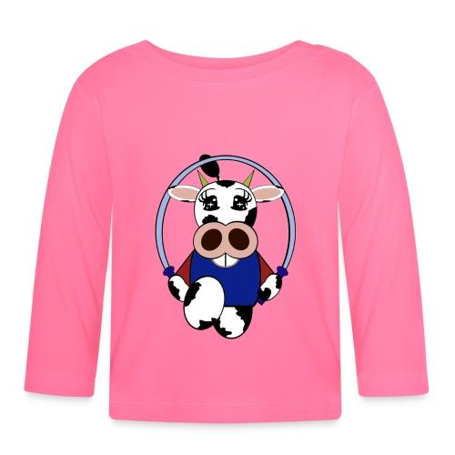 T shirt bébé vache - T-shirt manches longues Bébé