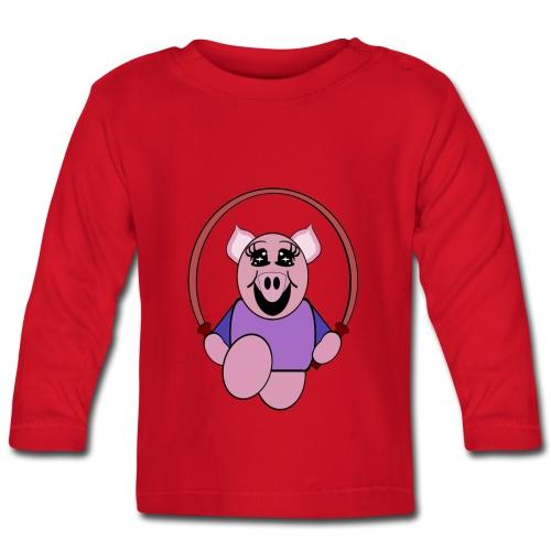 T shirt bébé cochon - T-shirt manches longues Bébé